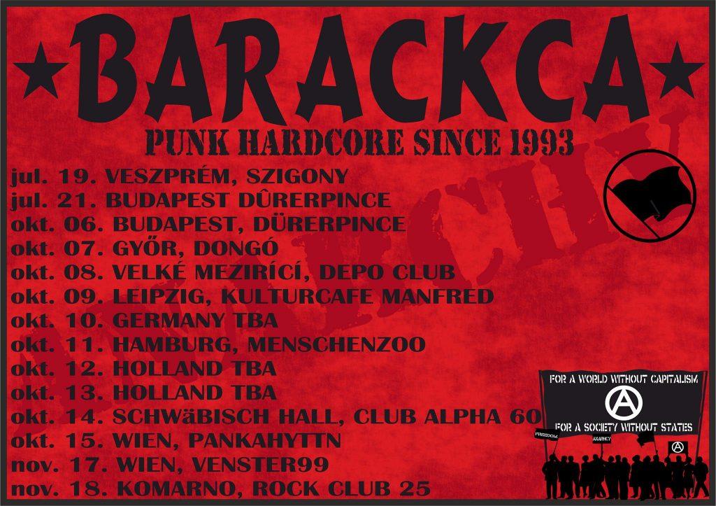 BARACKCA TOUR 2017